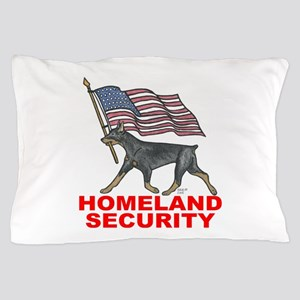 DOBERMAN HOMELAND SECURITY Pillow Case